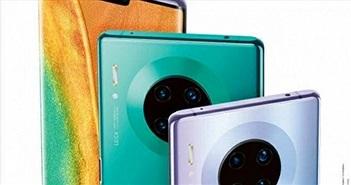 Hình ảnh chứng minh Huawei Mate 30 Pro đi kèm 4 camera sau