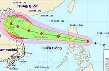 Bão Podul giật cấp 10 đang tiến vào biển Đông