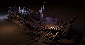 """""""Vùng chết"""" giữ xác tàu nguyên vẹn hàng nghìn năm dưới biển Đen"""