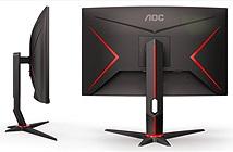 AOC công bố 4 màn hình chơi game G2: cong 1500R, 165Hz, hỗ trợ FreeSync Premium