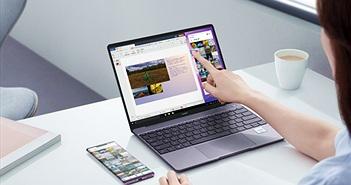 Huawei Matebook 13 ra mắt: siêu mỏng nhẹ, màn cảm ứng, cấu hình khủng, giá 30 triệu tặng quà 7 triệu