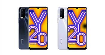 Vivo Y20 và Y20i ra mắt: pin 5.000mAh, Snapdragon 460, giá từ 154 USD