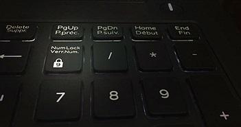 Cách giữ phím Num Lock luôn bật hoặc luôn tắt trên Windows