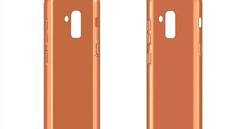 Lộ ảnh ốp lưng Galaxy A5 và Galaxy A7 2018