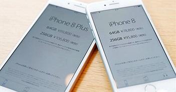 Vì sao iPhone 8 và iPhone 8 Plus có giá bán cao hơn thế hệ cũ?