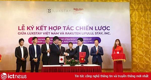 Bắt tay với Rakuten, Luxstay tham vọng dẫn dắt thị trường Đông Nam Á trong mảng du lịch