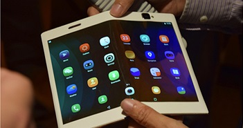 Rộ tin Lenovo ra mắt smartphone có thể uốn cong vào tháng 10