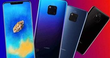"""Huawei Mate 20 và Mate 20 Pro """"lộ tất tần tật"""" thiết kế, tính năng và giá bán"""