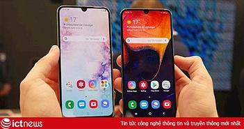 Lộ diện thiết kế màn hình vô cực mới của Samsung