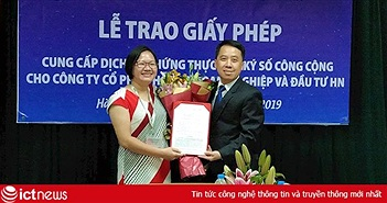 Thị trường dịch vụ chữ ký số công cộng Việt Nam có thêm 1 nhà cung cấp