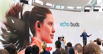 Amazon ra mắt tai nghe không dây Echo Buds chỉ 129 USD