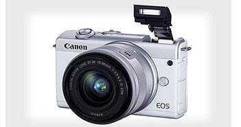 Canon ra mắt máy ảnh không gương lật nhập môn EOS M200