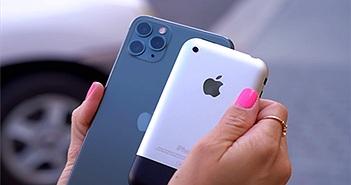 Khả năng chụp ảnh của iPhone 11 Pro đọ với iPhone 2G
