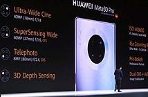 Huawei Mate 30 Pro chiếm ngôi đầu bảng xếp hạng của DxOMark