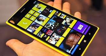 Sau khi giảm 3 triệu đồng, giá Lumia 1520 lại tiếp tục giảm mạnh