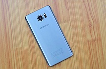 Ảnh thực tế siêu phẩm Galaxy Note 5 màu bạc Titanium tại VN