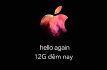 12G Đêm nay mời anh em xem Apple giới thiệu Mac Mới