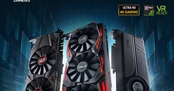 Asus giới thiệu 3 dòng card đồ hoạ GTX 1070 Ti: đèn nền Aura Sync, tối ưu hiệu năng và tản nhiệt