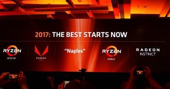 Kết quả tài chính quý III 2017 AMD: lần đầu tiên có lãi sau nhiều năm