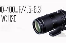 Tamron ra mắt lens tele siêu nhẹ 100-400mm F4.5-6.3 Di VC USD, giá 800 USD