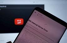 YouTube lại bị sập diện rộng, Việt Nam cũng bị ảnh hưởng