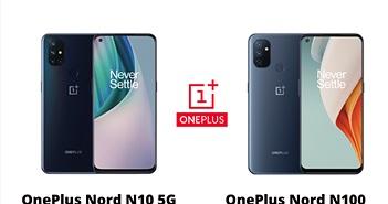 OnePlus Nord N10 5G và Nord N100 ra mắt: Màn hình 90Hz, sạc nhanh 30W, giá từ 211 USD