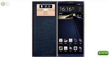 Ra mắt Gionee M7 Plus: Thiết kế đẹp, mạ vàng 24K