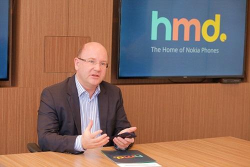 CEO HMD Global: Việt Nam là thị trường quan trọng của Nokia