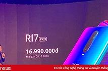 Oppo giới thiệu R17 Pro tại Việt Nam, tăng cường chụp đêm, sạc nhanh SuperVOOC, giá 16,99 triệu đồng