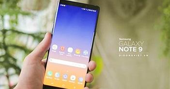 Galaxy Note 9 512GB chính hãng giảm 7 triệu, lên đời tiết kiệm 8,5 triệu