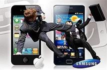 Apple - Samsung: Được đằng chân lân đằng đầu...