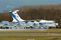 Cận cảnh lô tiêm kích Su-35 Nga chuyển cho Trung Quốc