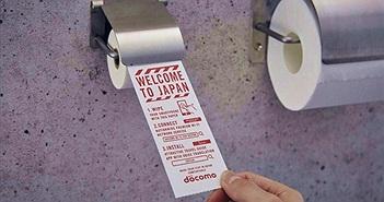Docomo cung cấp giấy vệ sinh dành cho Smartphone