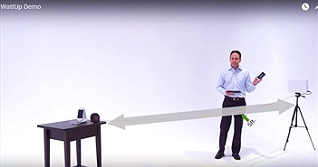 FCC phê duyệt bộ sạc không dây đầu tiên hoạt động ở tầm xa khoảng 1 mét