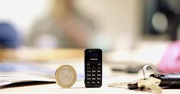 Điện thoại nhỏ nhất thế giới 'lên kệ' tháng 5.2018