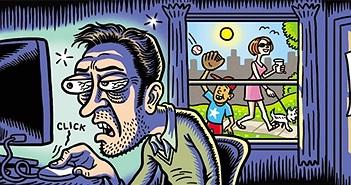 Người nghiện Internet có biểu hiện giống nghiện ma túy