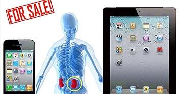 Thanh niên Trung Quốc bán thận mua iPhone 4, nằm liệt suốt 7 năm