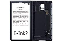 Samsung phát triển case kèm màn hình e-ink cho Galaxy S6?