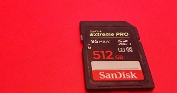 SanDisk giới thiệu thẻ nhớ SDXC và microUSB cao cấp