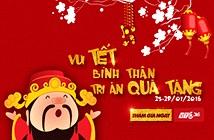 VTC365 tặng hàng nghìn lì xì dịp Tết Bính Thân
