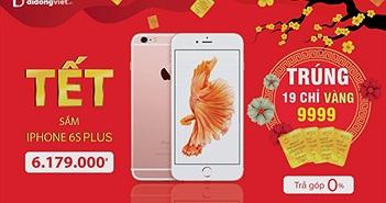 Mua iPhone giá chỉ 6,1 triệu trúng vàng 9999 mỗi ngày