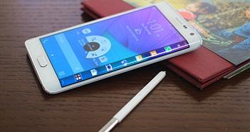 Smartphone màn hình cong Galaxy Note Edge