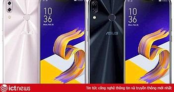 Thông tin chi tiết bộ ba smartphone ASUS ZenFone 5Z, ZenFone 5, ZenFone 5 Lite vừa ra mắt