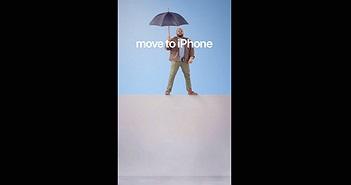 """Apple đáp trả Samsung với loạt quảng cáo mang thông điệp """"Hãy chuyển sang dùng iPhone"""""""