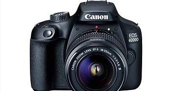 Canon EOS 4000D ra mắt: chiếc máy ảnh DSLR rẻ nhất của Canon