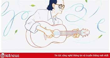 Nhạc sĩ Trịnh Công Sơn, nghệ sĩ Việt Nam đầu tiên được tôn vinh trên Google tại Việt Nam