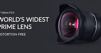 Choáng ngợp với ống kính góc rộng nhất thế giới Samyang XP 10mm F3.5