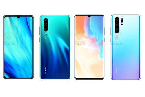 Huawei P30 và P30 Pro lộ diện thông qua hình ảnh render chi tiết