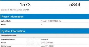 OPPO F11 Pro xuất hiện trên Geekbench với chipset Helio P70