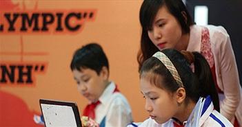 Học sinh 55 tỉnh, thành sẽ tham gia vòng thi quốc gia ViOlympic 2015-2016